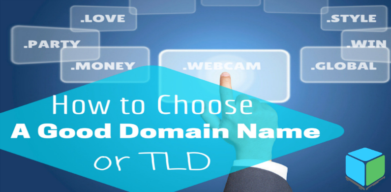 how to choose a good domain name BL