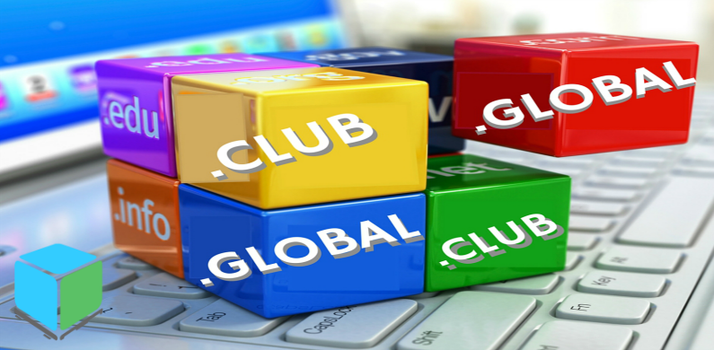 CLUB AND .GLOBAL Domains BL